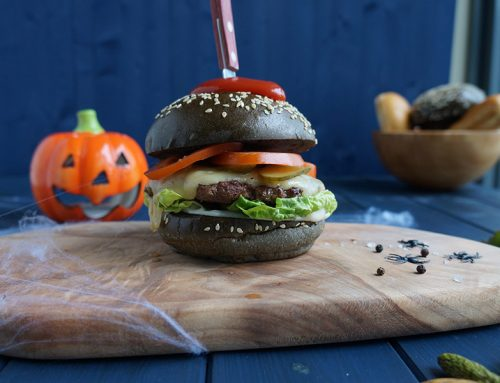 Gooey Ghoulish Burger